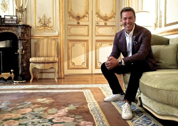 Ricardo a lancé son nouveau livre Un Québécois... (Photo Jean-Christophe Laurence, La Presse)