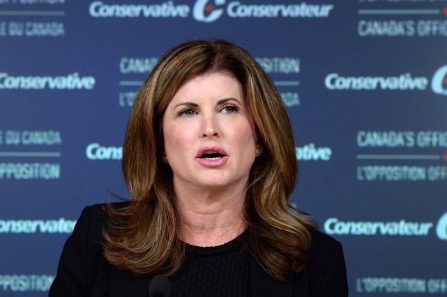 La chef intérimaire du Parti conservateur, Rona Ambrose.... (Photo Adrian Wyld, archives PC)