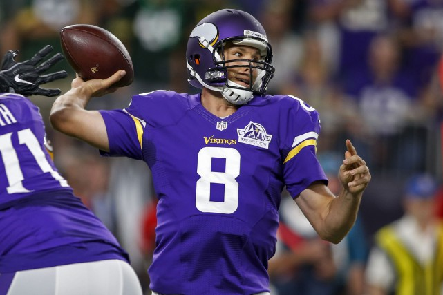 Sam Bradford... (Photo Bruce Kluckhohn, USA Today Sports)