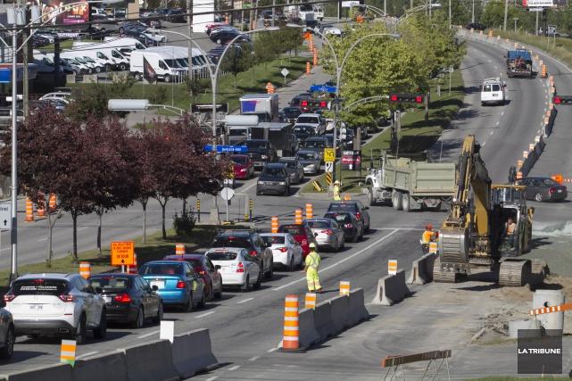 la ville demande aux automobilistes d 39 viter les zones de chantier claude plante sherbrooke. Black Bedroom Furniture Sets. Home Design Ideas