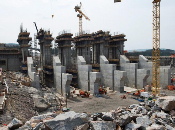 La situation du projet hydroélectrique de Muskrat Falls... (Photo Andrew Vaughan, archives La Presse Canadienne)