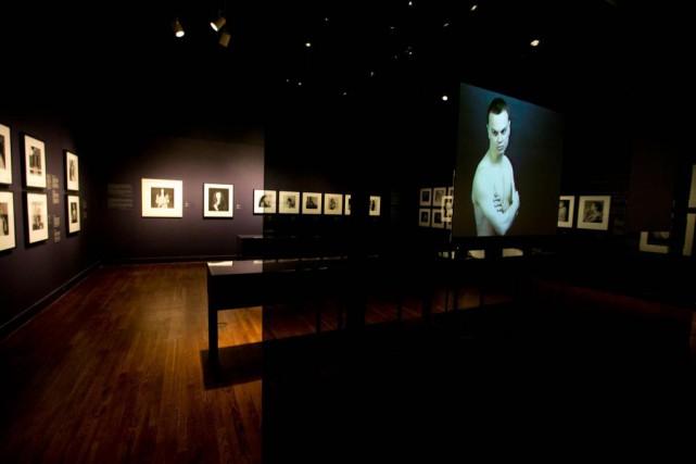 Vue de l'exposition Focus:Perfection-Robert Mapplethorpe,présentée au Musée des... (Photo François Roy, La Presse)