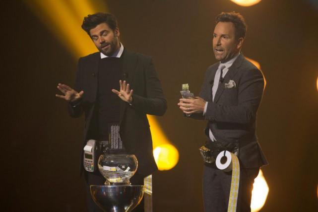 À la barre du 31e Gala des prix... (Photo Olivier Jean, La Presse)