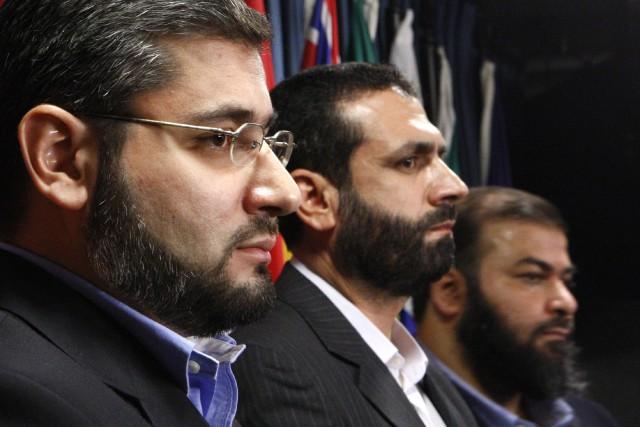 Abdullah Almalki, Muayyed Nureddin et Ahmad El Maati,ressortissants... (Photo archives Reuters)