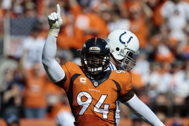 DeMarcus Ware... (PHOTO Isaiah J. Downing, USA TODAY Sports)