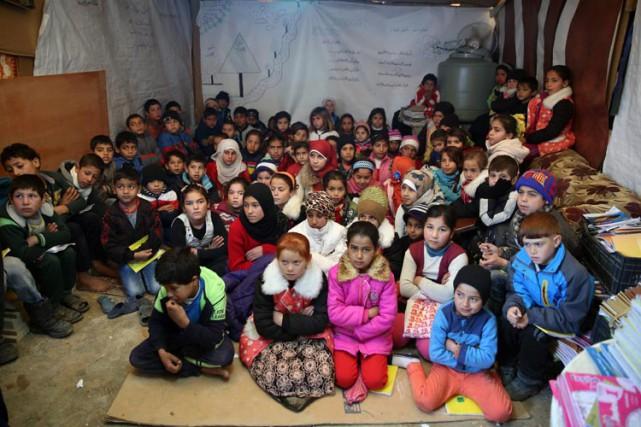 Le premier ministre libanais a souligné le fardeau... (ARCHIVES AP)