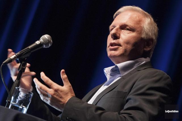 Le candidat à la chefferie du Parti québécois... (Le Quotidien, Michel Tremblay)