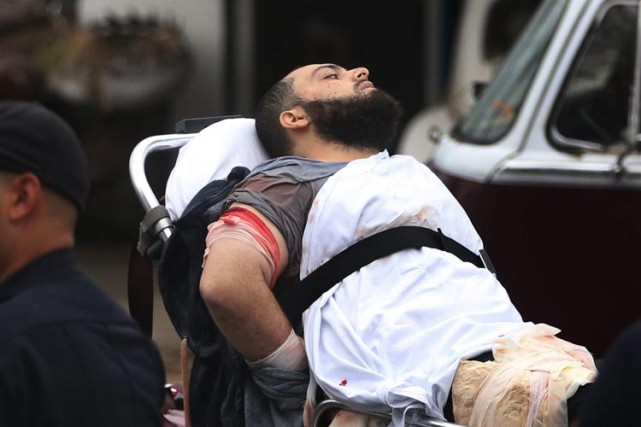 Le suspect Ahmad Khan Rahami a été blessé... (PHOTO archives AP)