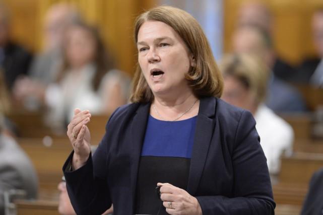 La ministre fédérale de la Santé, Jane Philpott.... (PHOTO PC)