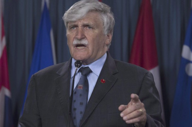 Roméo Dallaire... (PHOTO Adrian Wyld, archives PC)