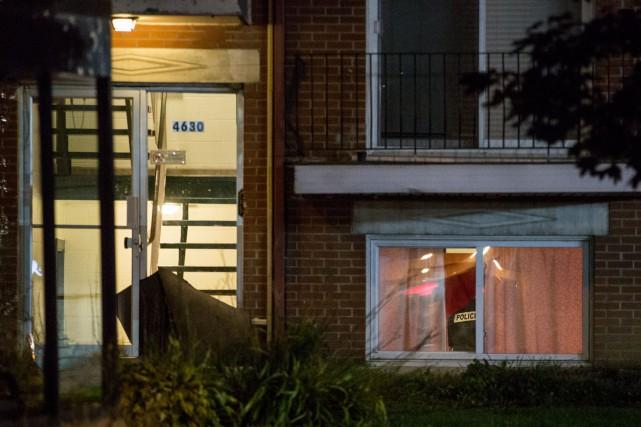 La police de Québec a reçu un appel... (Collaboration spéciale Steve Jolicoeur)
