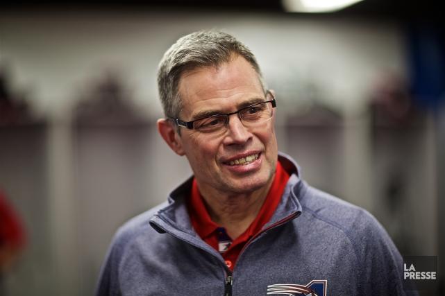 Jacques Chapdelaine est promu entraîneur-chef des Alouettes de... (La Presse)