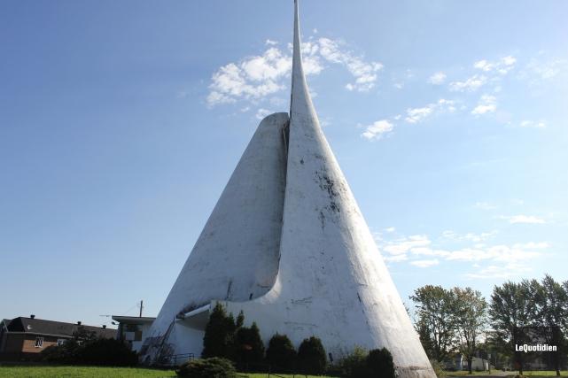 L'ancienne église Notre-Dame de Fatima... (Archives Le Quotidien)