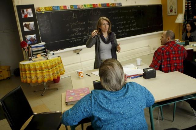 Les francophones du Nouveau-Brunswick performent beaucoup moins bien aux tests... (Archives, La Presse)