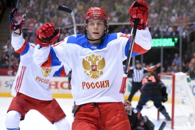 Vladislav Namestnikov (photo) et Nikita Kucherov ont fait... (PHOTO REUTERS)