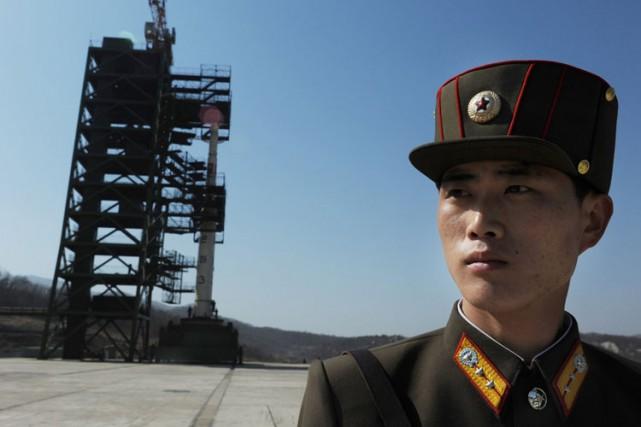 Avec ce nouveau moteur, la Corée du Nord... (PHOTO AFP)