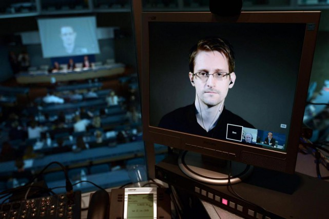 Edward Snowden... (Archives AP)