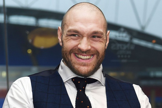 Tyson Fury... (Photo Paul Ellis, archives Agence France-Presse)