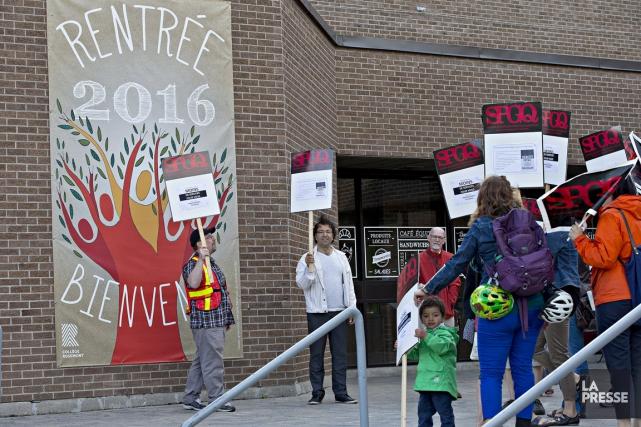 Il s'agit de la deuxième journée de grève... (photo Patrick Sanfaçon, archives la presse)