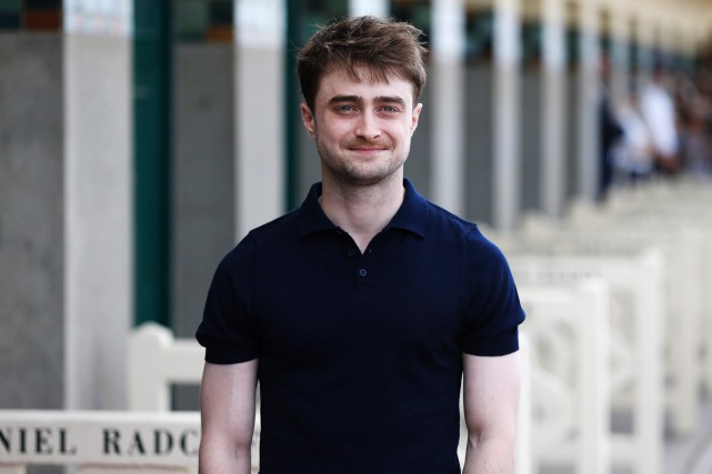 Daniel Radcliffe lors de sa participation au festival... (PHOTO ARCHIVES AFP)