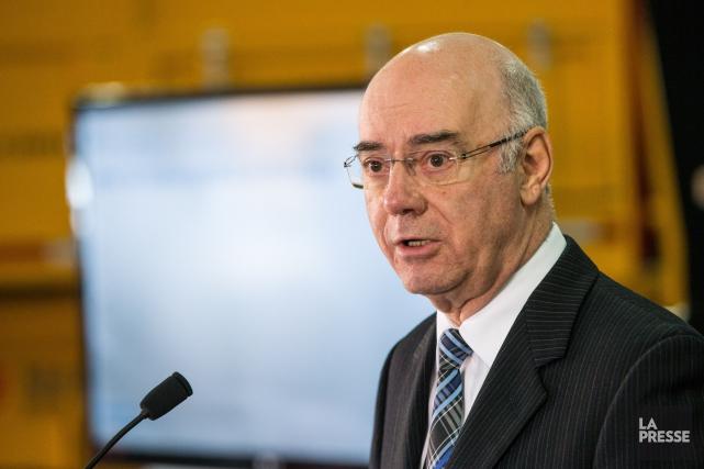 L'ex-ministre des Transports du Québec, Jacques Daoust... (PHOTO HUGO-SÉBASTIEN AUBERT, ARCHIVES LA PRESSE)