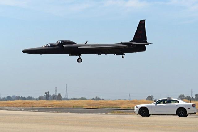 L'avion U2 est conçu pour pouvoir voler jusqu'à... (PHOTO AP)