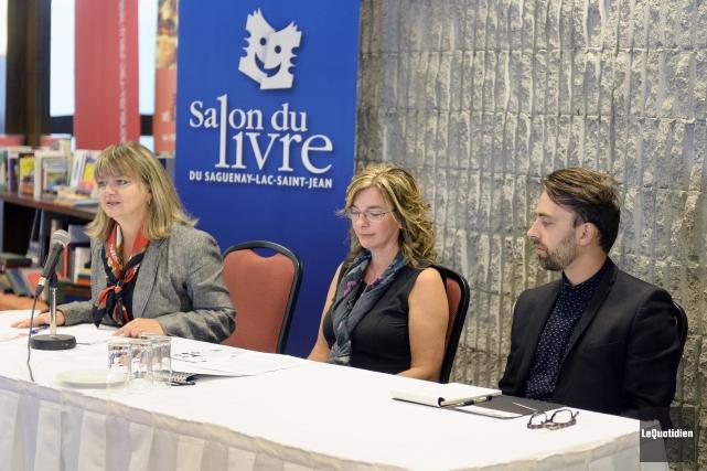 Marjolaine Vézina, présidente du conseil d'administration du Salon... (Photo Le Quotidien, Jeannot Lévesque)