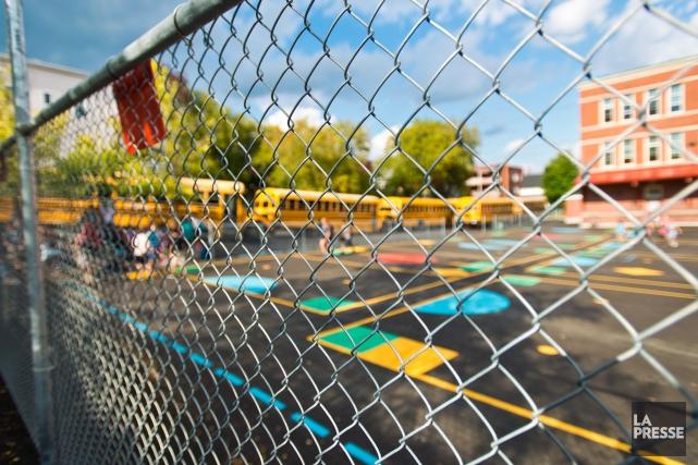 Six écoles de la CSRS, dont l'école primaire... (Spectre Média, Jessica Garneau)