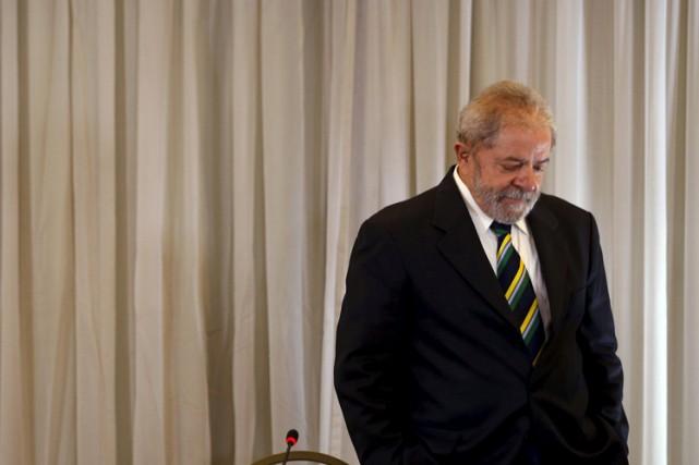 L'ex-président brésilien Luiz Inácio Lula da Silva était... (PHOTO ARCHIVES REUTERS)