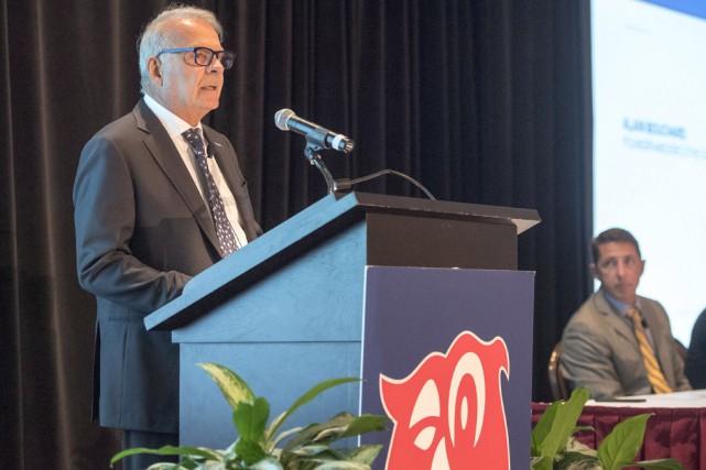 Le fondateur et président directeur du conseil d'Alimentation... (La Presse canadienne)