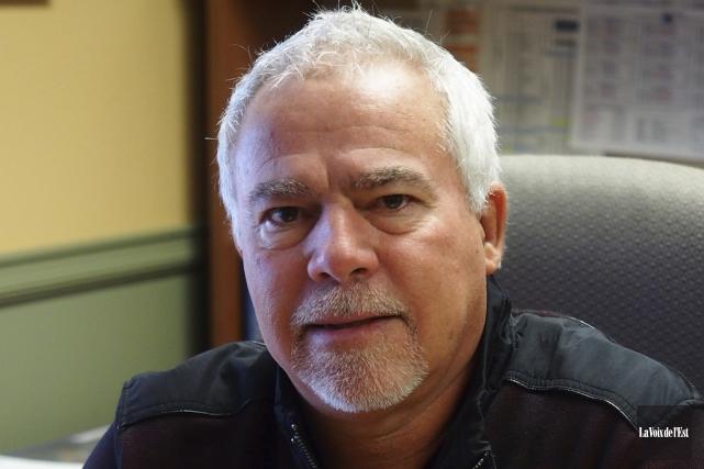 L'actuel directeur des travaux publics, Sylvain Flibotte, prendra... (photo archives La Voix de l'Est)
