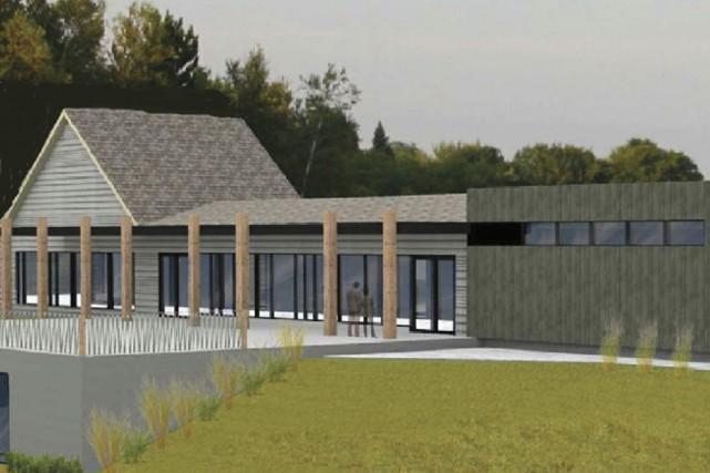 La rénovation du pavillon de la plage du... (fournie par Favreau Blais)