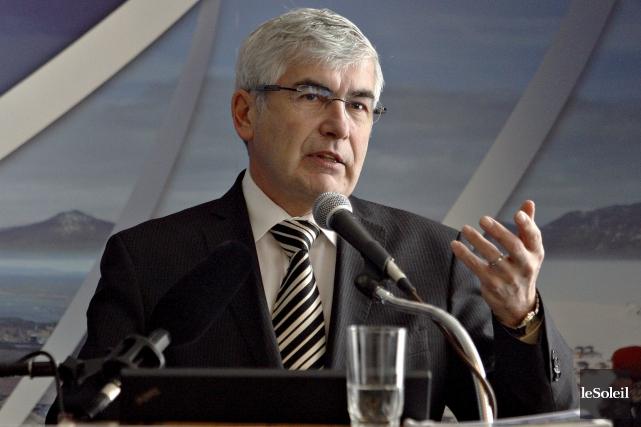 Clément Gignac,ancien ministre libéral du Développement économique et... (Le Soleil, Pascal Ratthé)