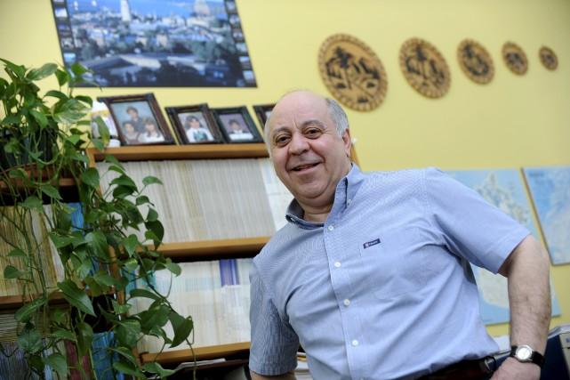 Nadir Belkhiter, vice-doyen à la Faculté des sciences... (Photo fournie par l'Université Laval)