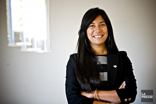 La présidente de l'Ordre des ingénieurs, Kathy Baig,... (La Presse, Patrick Sanfaçon)