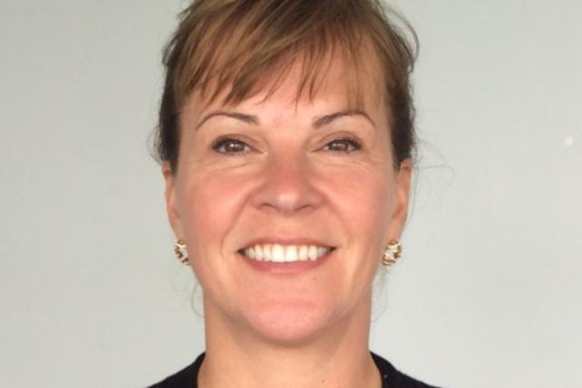 La directrice en développement durable de l'APTR, Claudie...