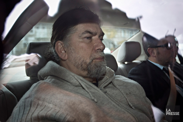 Salvatore Cazzetta, photographié en 2015, lors d'une arrestation.... (Photo Patrick Sanfaçon, archives La Presse)