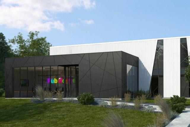 Une autre entreprise sherbrookoise décide de s'installer dans le secteur de la... (Photo fournie)