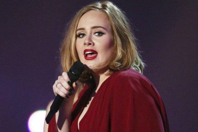 Adele... (PHOTO ARCHIVES AP)