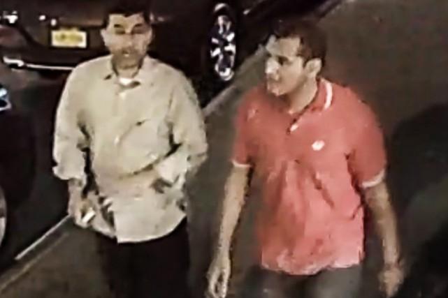 Alors qu'ils marchaient sur la 27e rue, dans... (photo FBI/REUTERS)