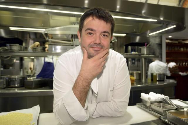 Jean-François Piège, à la tête du Grand Restaurant à Paris, a été sacré «chef... (PHOTO ARCHIVES AFP)