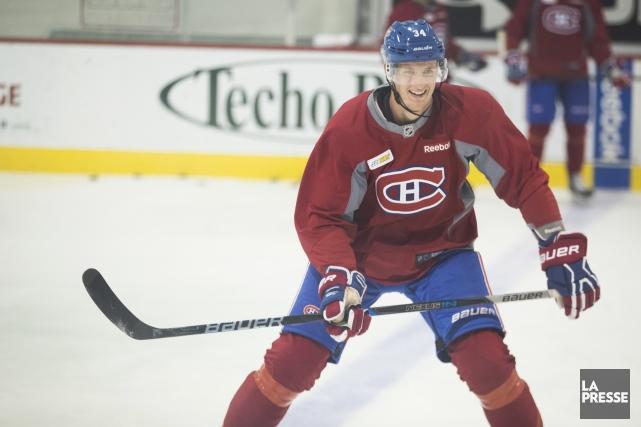 Michael McCarronse présentera au camp d'entraînement du Canadien... (Photo Ivanoh Demers, La Presse)