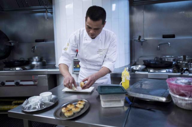 T'ang Court, un restaurant de seulement six tables... (AFP)