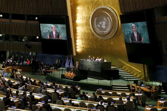 Trente et un pays ont ratifié l'accord de... (AP, Jason DeCrow)