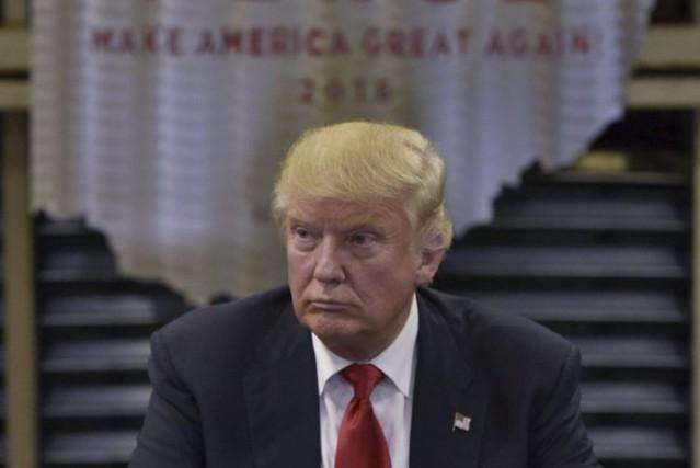 Le candidat républicain à la présidentielle Donald Trump... (Archives AFP)