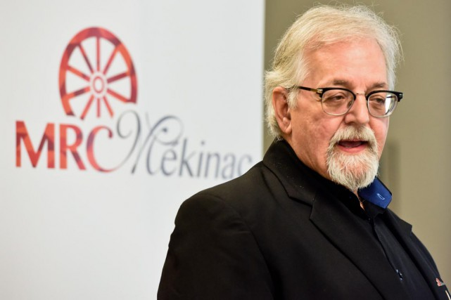 Le préfet de la MRC de Mékinac et... (Photo: Francois Gervais)