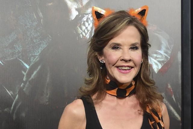 Linda Blair était au lancement des soiréesHalloween Horror... (AFP, Frederic J. Brown)