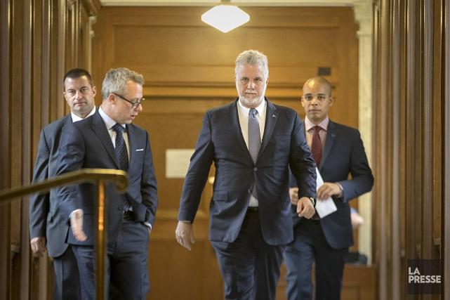 Le premier ministre Philippe Couillarda affirmé jeudi que... (La Presse, Ivanoh Demers)