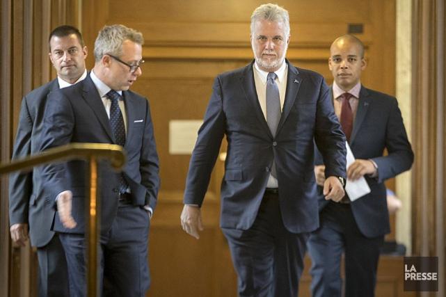 Le premier ministre, Philippe Couillard, n'a plus qu'une... (Archives La Presse)