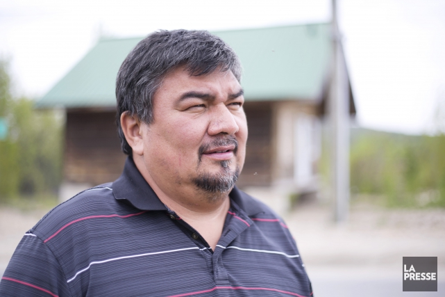 Jean-Roch Ottawa, chef du Conseil de bande de... (La Presse)